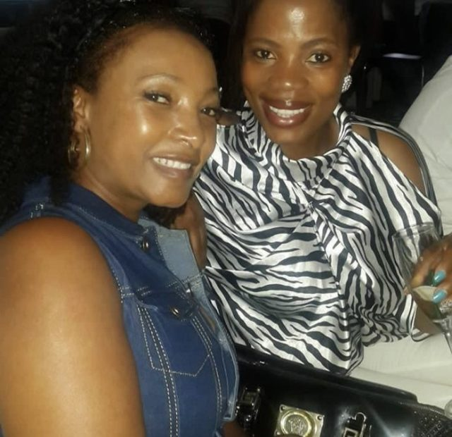 Winnie Ntshaba and Palesa Madisakwane