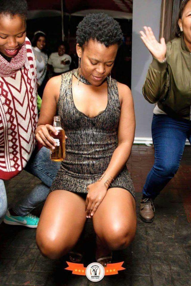 Zodwa Wabantu no panties at durban july