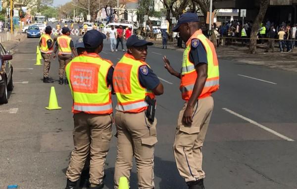 Tshwane Metro Police Officer