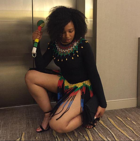 Phindile Gwala Dancing