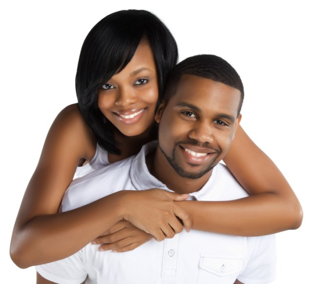 Perfectly Beautiful African American Couple