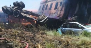 KROONSTAD TRAIN CRASH