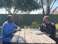 Simba Makoni and Nelson Chamisa
