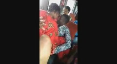 A Woman Openly Allows A Man To F1nger Her In A Morning Bus