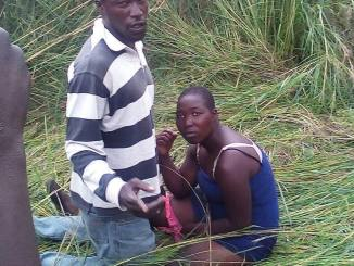 Bolobedu wife got caught by his husband having sex with another man at the bush