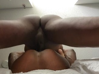 Pussy squirting all over the place