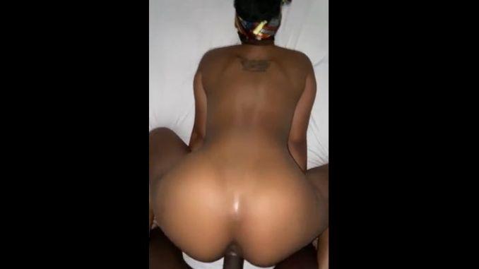 Slim Thick Slay Queen Taking Big Black Cock Backshots