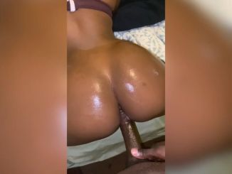 She loves when I pound her pussy from the back