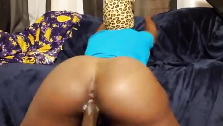 Thick Ass Black Girl Creamy Pussy Riding Dildo Video Leaked