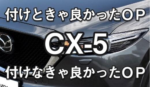 【CX-5のオプション選び】オーナーが語る「必要なかった、付けて良かった、付けたいオプション」