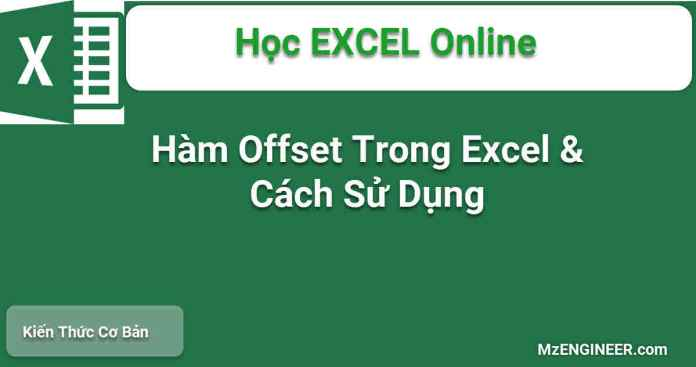ham offset trong excel cach su dung