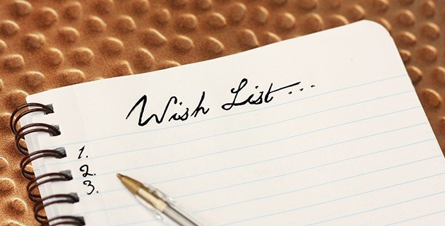 Write Your Wish List
