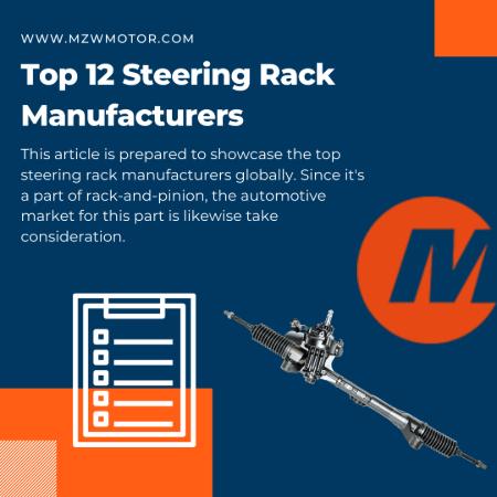 top 12 steering rack oem list mzw motor