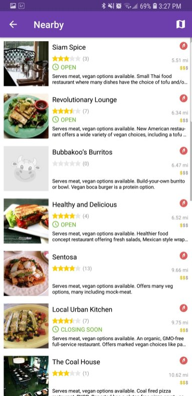 happy cow vegan app screenshot2