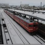 711系電車乗りおさめ 岩見沢から札幌