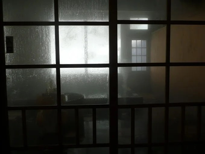 青荷温泉・お風呂の紹介・滝見の湯