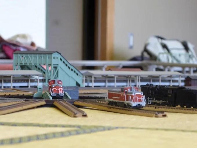鉄道模型倶楽部・ターンテーブル