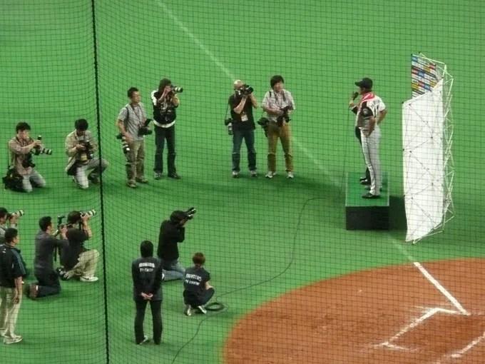 セ・パ交流戦 東京ヤクルトスワローズVS北海道日本ハム北海道日本ハム