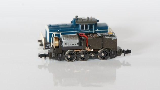 Fahrgestell MiniTrix BR 360