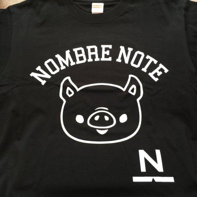 ノンブルノート「N」Tシャツ