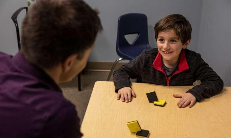أقصر اختبار ذكاء لأطفال ذوي الاحتياجات الخاصة.