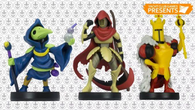 Plague Knight, Specter Knight und King Knight aus dem Shovel Knight-Universum wurden als amiibo-3-Pack angekündigt