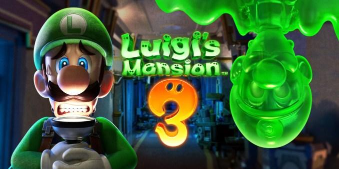 Cover von Luigi's Mansion 3 für die Nintendo Switch.