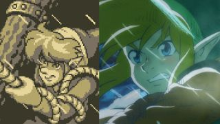 Link's Awakening früher vs. heute