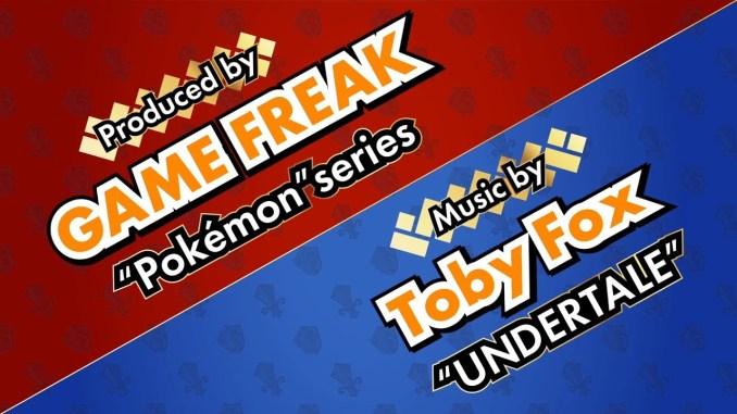 Visuelle Darstellung der Kooperation zwischen GAME FREAK und Toby Fox