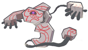 Das abstrakte Pokémon Oghnatoll