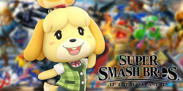 Das Foto zeigt Melinda in Super Smash Bros. Ultimate.