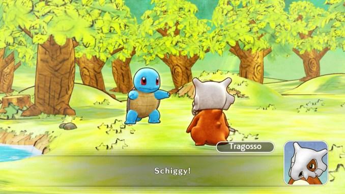 Das Foto zeigt einen Dialog zwischen Schiggy und Tragosso.