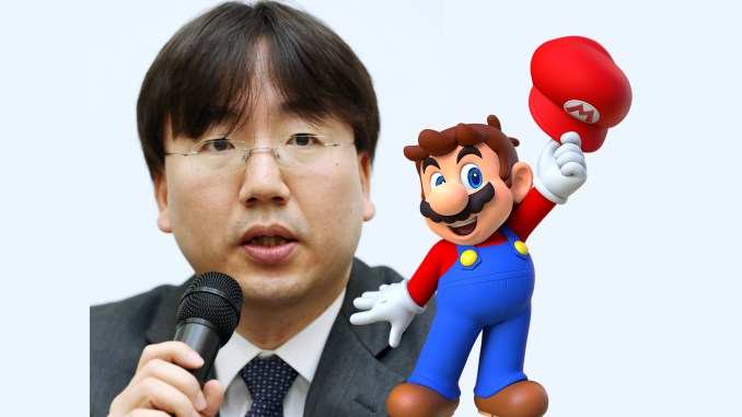 Das Bild zeigt den Nintendo-Präsidenten Shuntaro Furukawa.