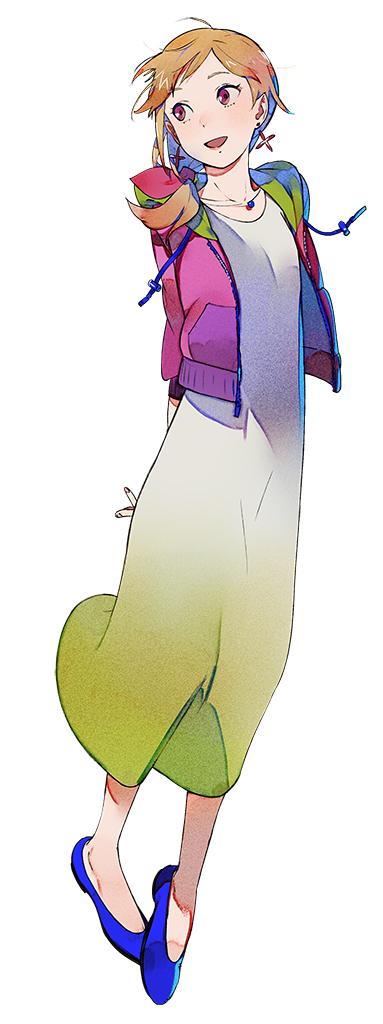Das Bild zeigt das bescheidene Mädchen Saki Kimijima.