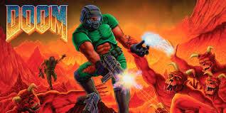 Doom, Ein Krieger versucht die Welt zu retten.