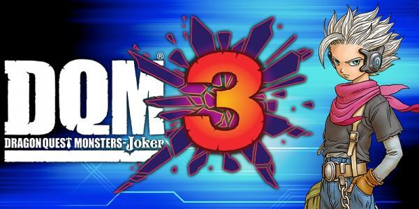 Hier wird das Titelbild zu Dragon Quest Monsters - Joker 3 gezeigt.