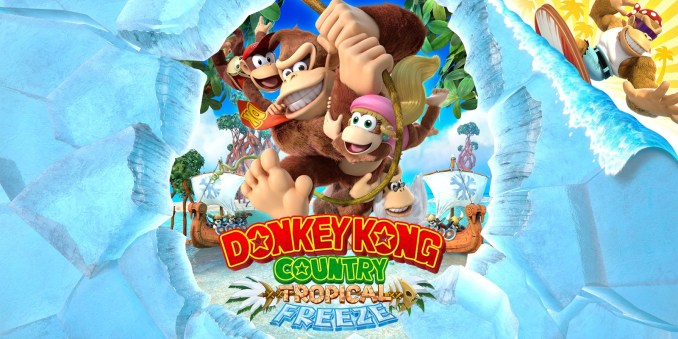 Das Bild zeigt das Cover zu Donkey Kong Country: Tropical Freeze.