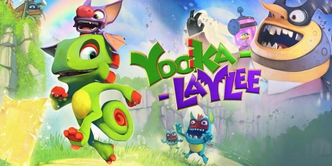 Das Bild zeigt ein Werbebild zu Yooka-Laylee.