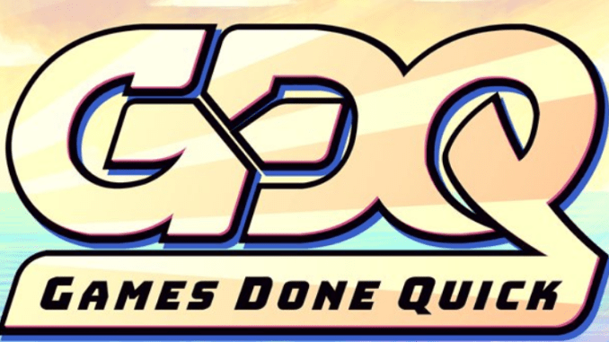 AGDQ Awesome Games Done Quick