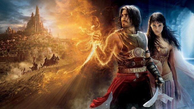Jake Gyllenhaal auf einem Poster für Prince of Persia