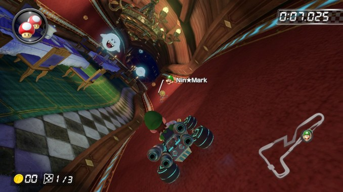 Das Bild zeigt ein Rennen gegen Geistdaten.