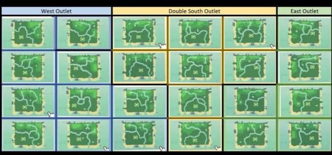 Dieses Bild zeigt 24 mögliche Inseln.