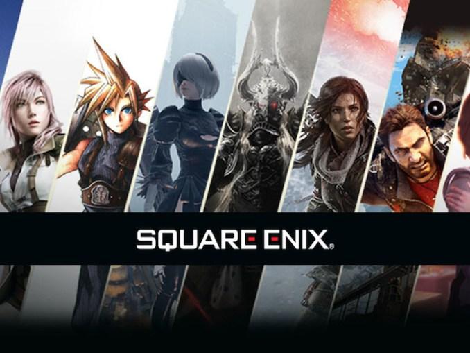 Das Bild zeigt einige Hauptcharaktere aus dem Entwicklerstudio Square Enix. Neben Trials of Mana haben sie auch Spiele wie Dragon Quest und Kingdom Heart entwickelt.