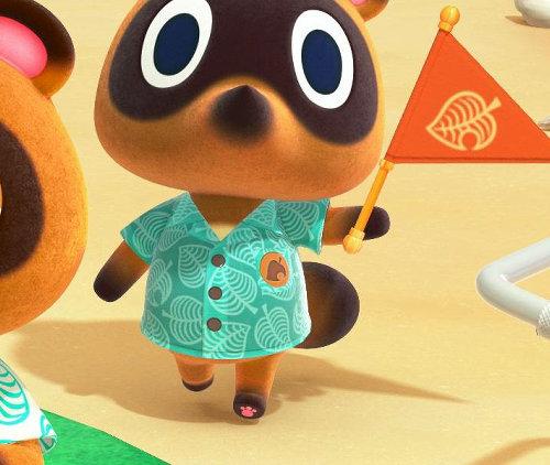 Zum ersten Mal kann man die Pfote eines Nachbarn aus Animal Crossing von unten sehen und siehe da: eine kleine Tatze kam zu Vorschein!
