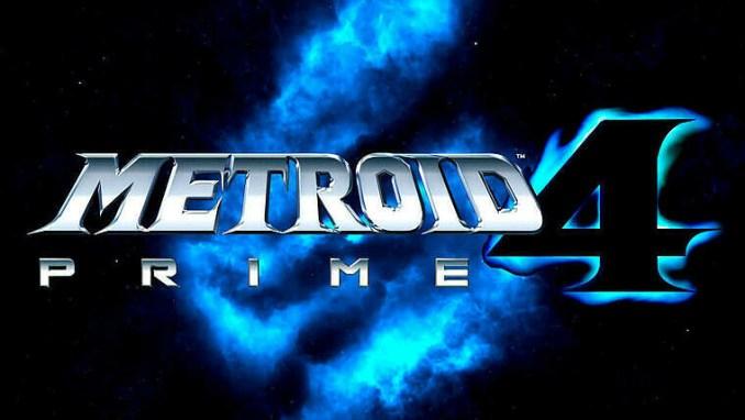 Das Bild zeigt das Logo zu Metroid Prime 4 von Retro Studios.