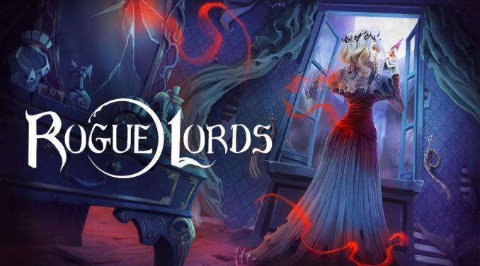Das Titelbild von Rogue Lords