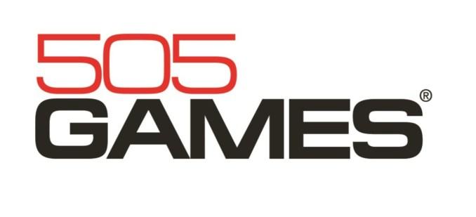 Das Bild zeigt das Logo von dem Spiele-Publisher 505 Games.