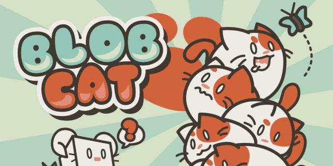 """Das Bild zeigt ein Werbebild zu """"BlobCat"""" auf der Nintendo Switch."""