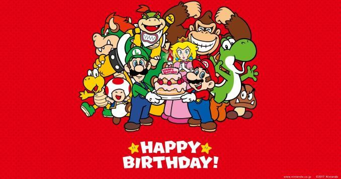 Das Bild zeigt: Happy Birthday, Nintendo Switch!
