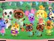 Auf dem Bild ist die Animal Crossing Spielcharakterschar zu sehen.